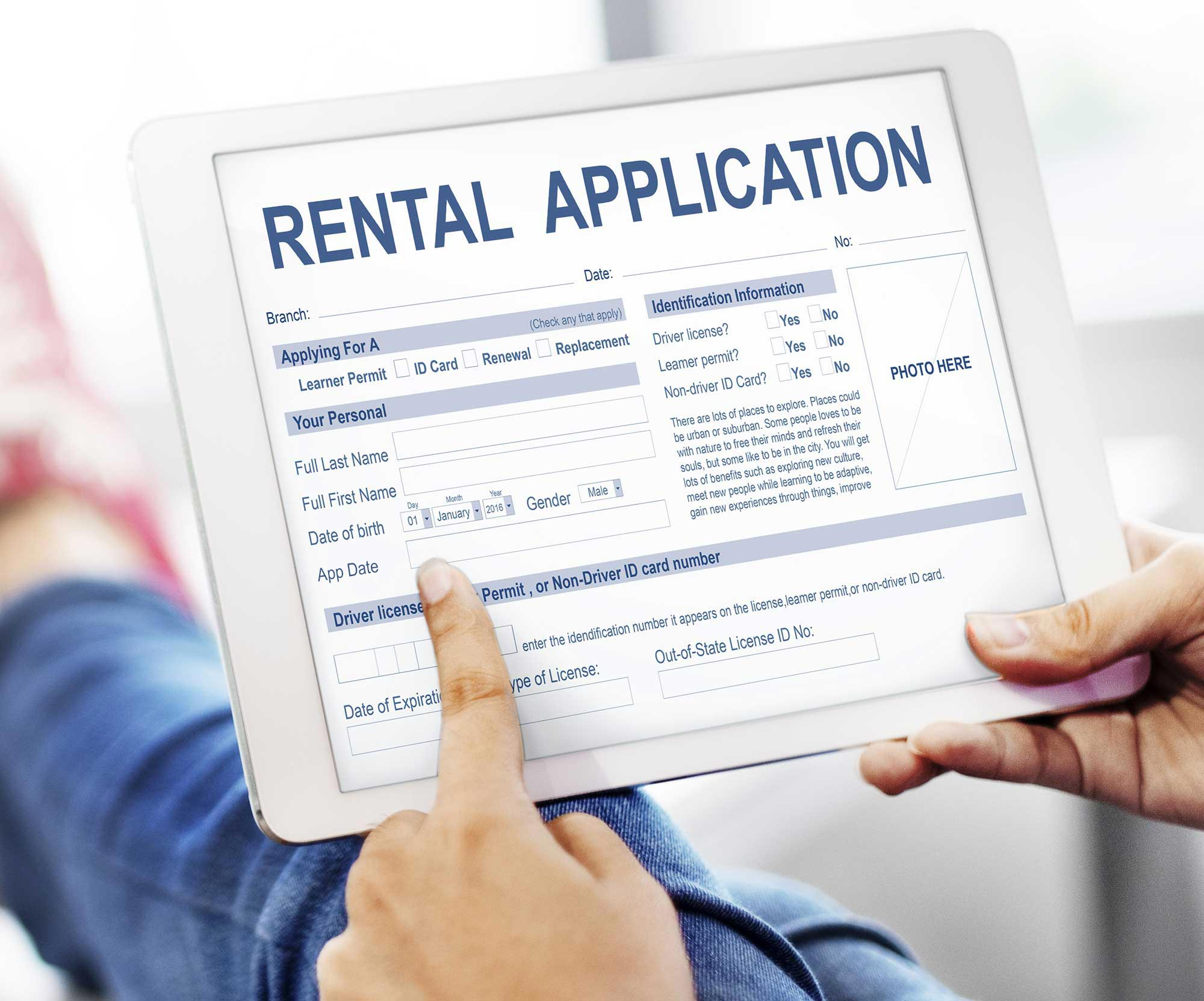 San Diego Rental Application Criteria